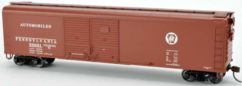 HO Scale: PRR X32 Series Box Cars Announced